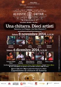 The Acoustic Guitar Progject Genova