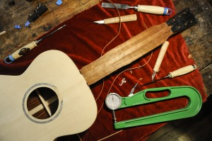 Guitars and tools