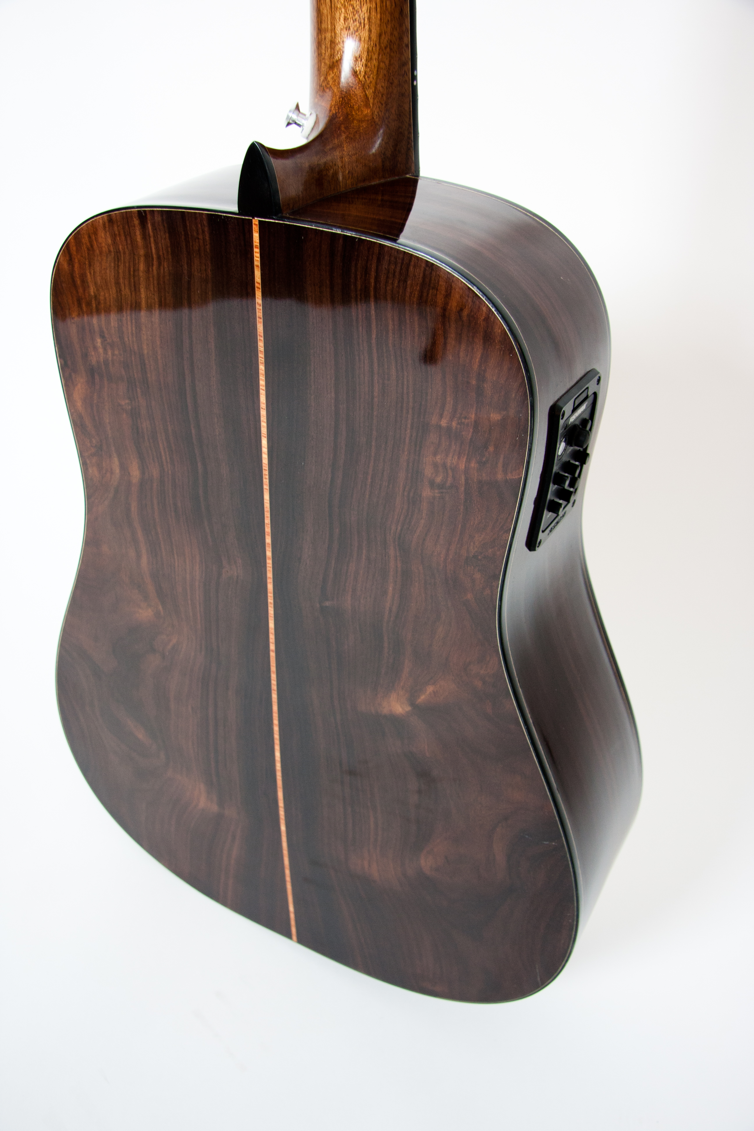 Back detail - Indian rosewood