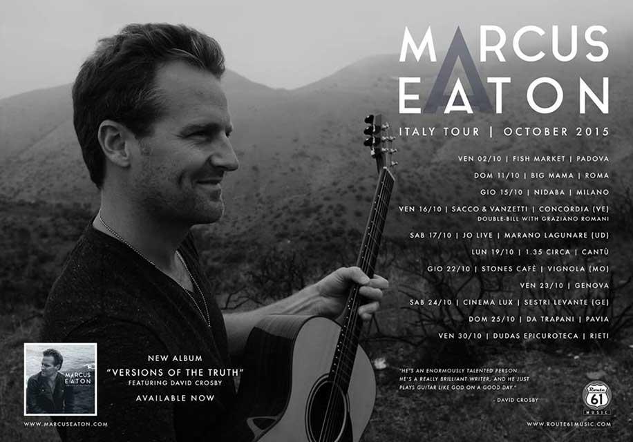 Marcus Eaton live in Genoa