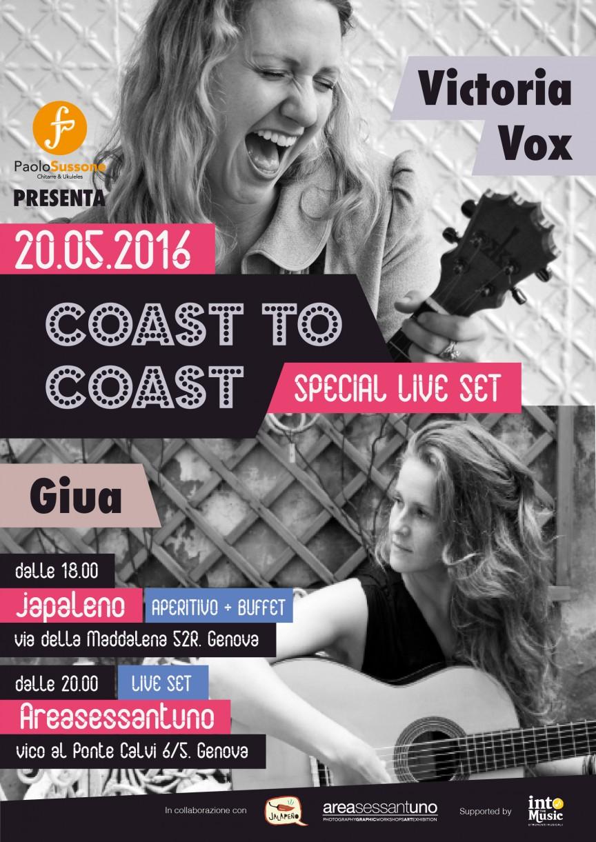 VICTORIA VOX + GIUA - Acoustic Live Set