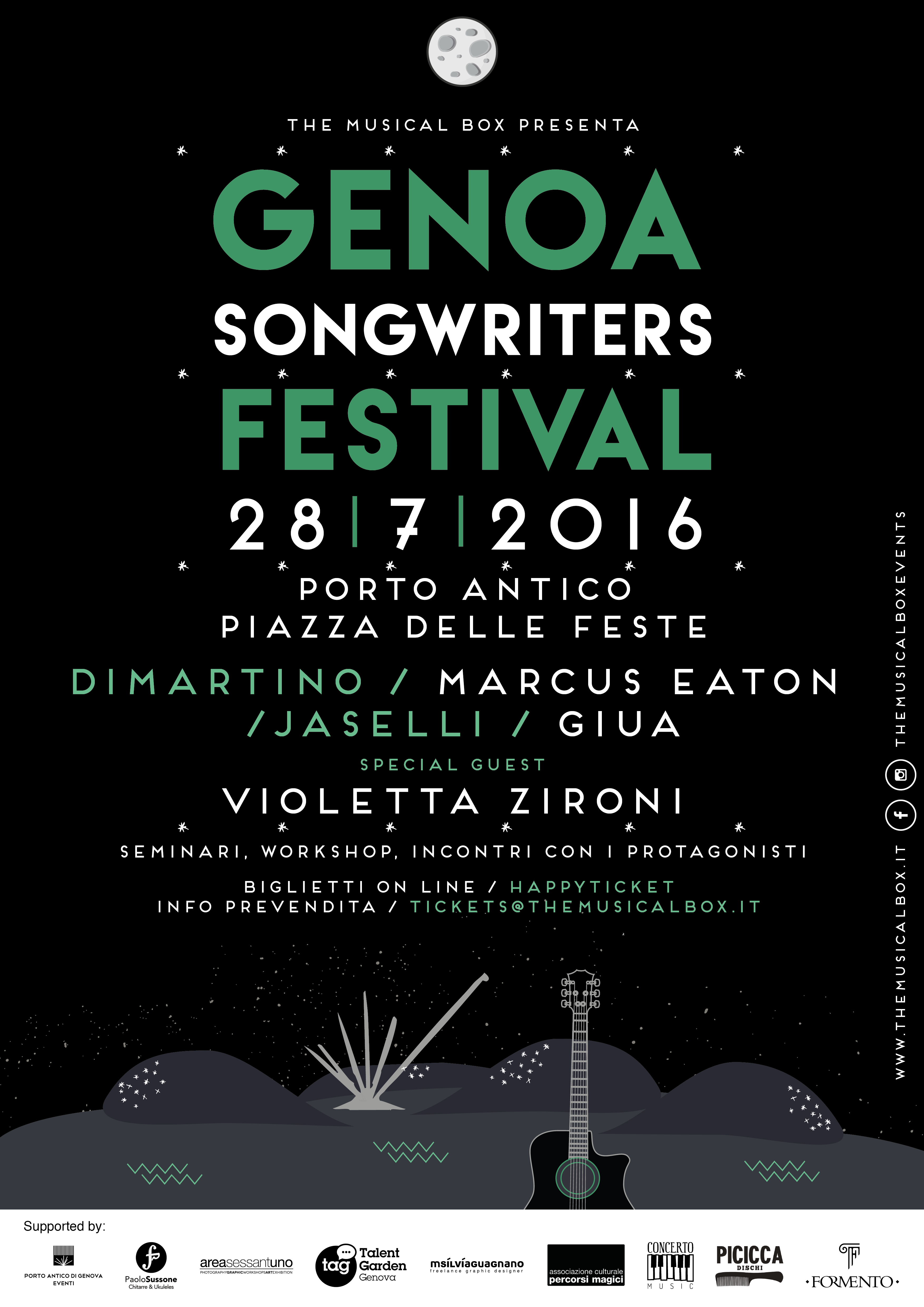GENOA SONGWRITERS FESTIVAL