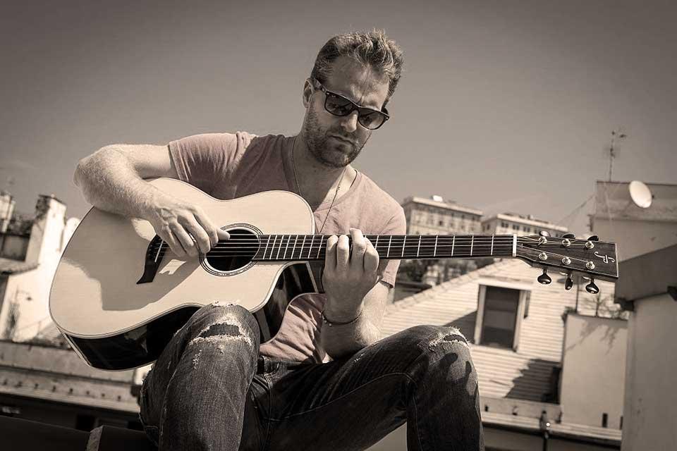Skype guitar with Marcus Eaton